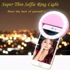 Đèn LED kẹp điện thoại hỗ trợ chụp hình Selfie ( Khanh LInh ) ( Thanh Thủy Story )