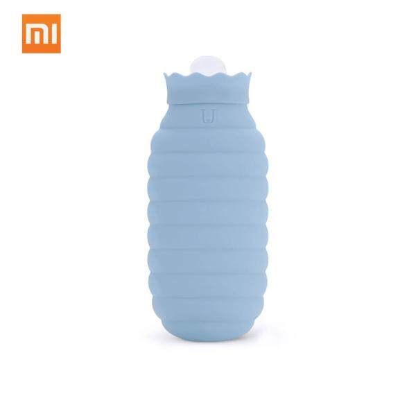 Buy Xiaomi Hot Water Bag Microwave Heating Silicone Bottle Winter Heater With Knitted Cover Hand Warmer Hot Water Bottle 313/620ml For Girls Women L Singapore