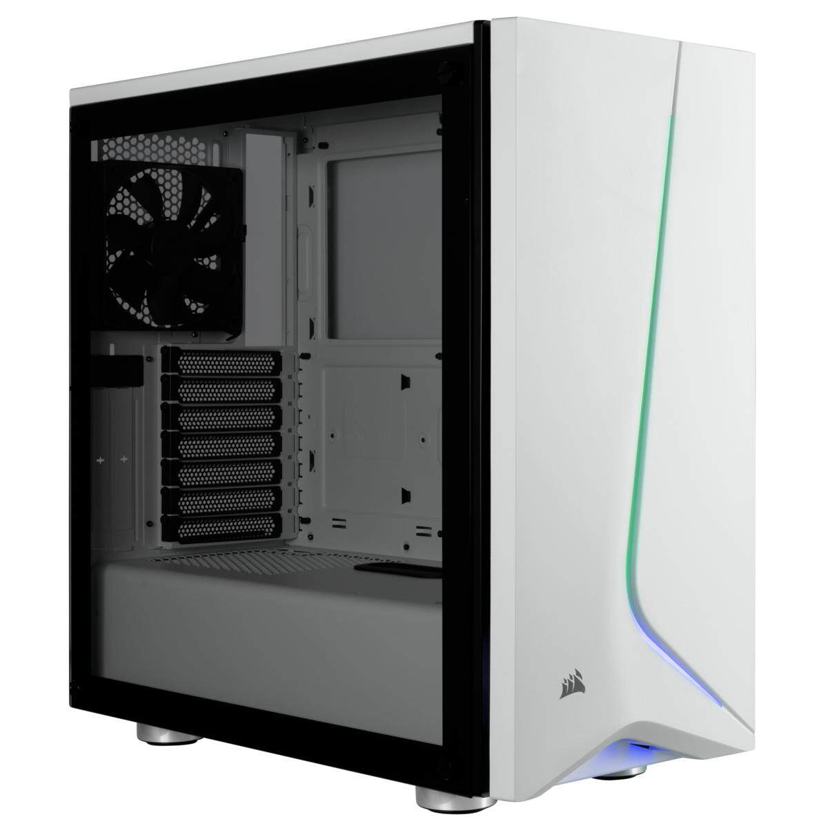 # CORSAIR Carbide SPEC-06 RGB Tempered Glass Case # SPEC 06 Black | White Malaysia