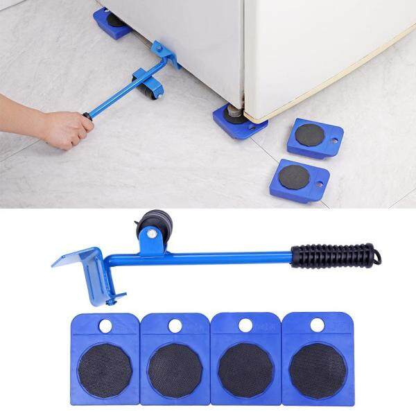 Bsex 5PCS Furniture Handling Tools Household Heavy Lifting Equipment 5 In 1 Moving Heavy Object Handling Household Furniture Mobile