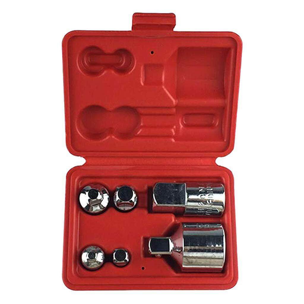 6Pcs Multi-Function Socket Reducer Set Air Impact Adapter Converter For Wrenches And Ratchets