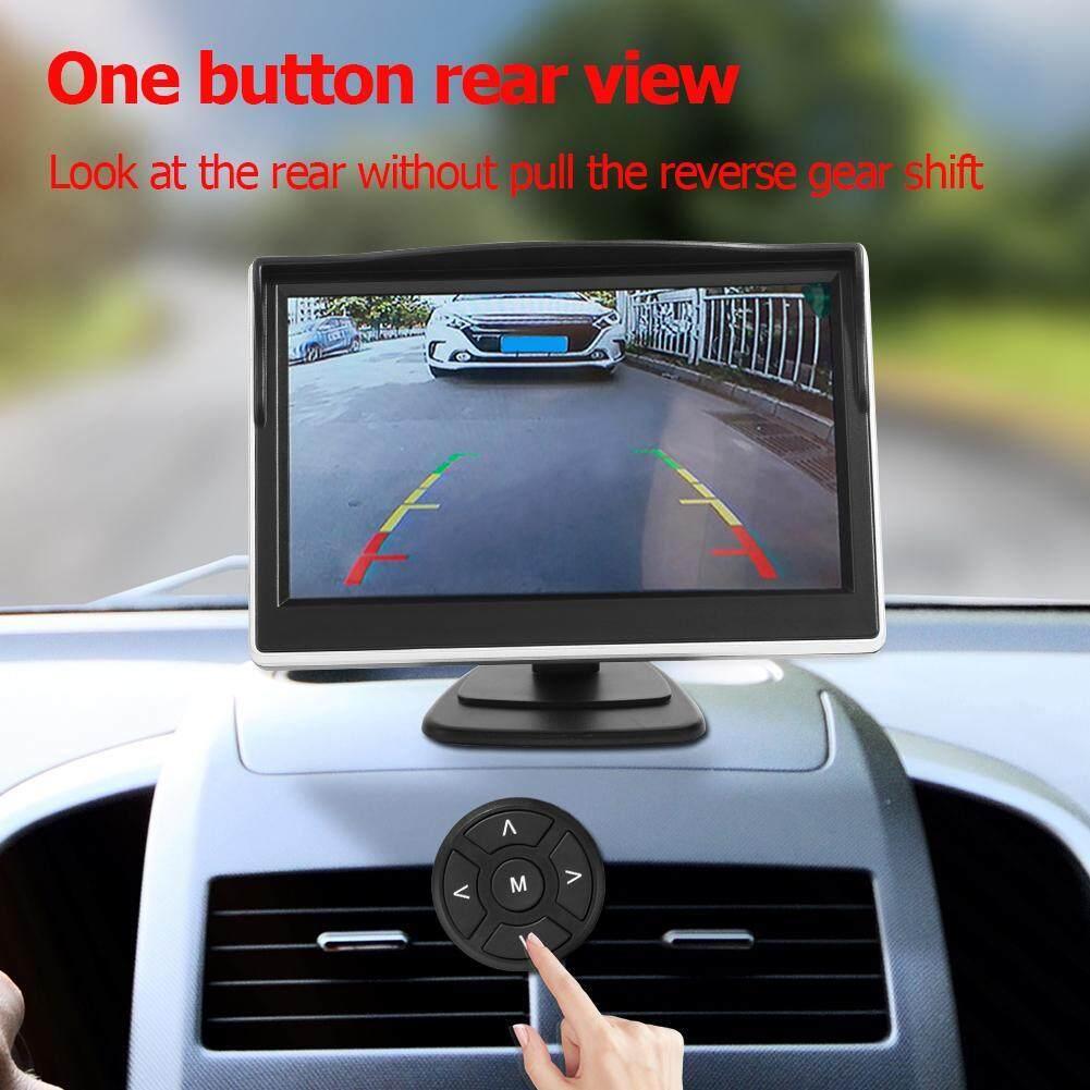 360 องศา Bird View ระบบ 4 กล้อง Dvr รถยนต์กล้องสำหรับบันทึกพร้อม 5in Monitor.