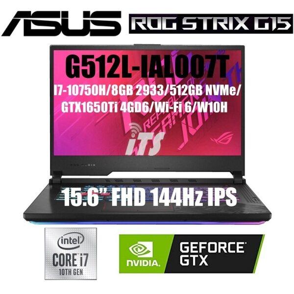 ASUS ROG Strix G15 G512L-IHN007T Gaming Laptop (I7-10750H/8G/512G NVMe/GTX1650Ti 4GD6/15.6 144Hz IPS) Malaysia