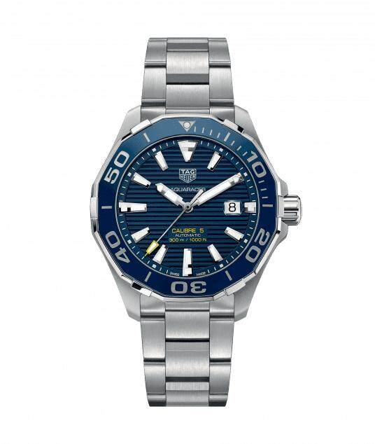 Original (Reassembled) Tag_Heuer Swiss Made Aquaracer Calibre 5 Automatic - BLUE with 2 Years Warranty Malaysia