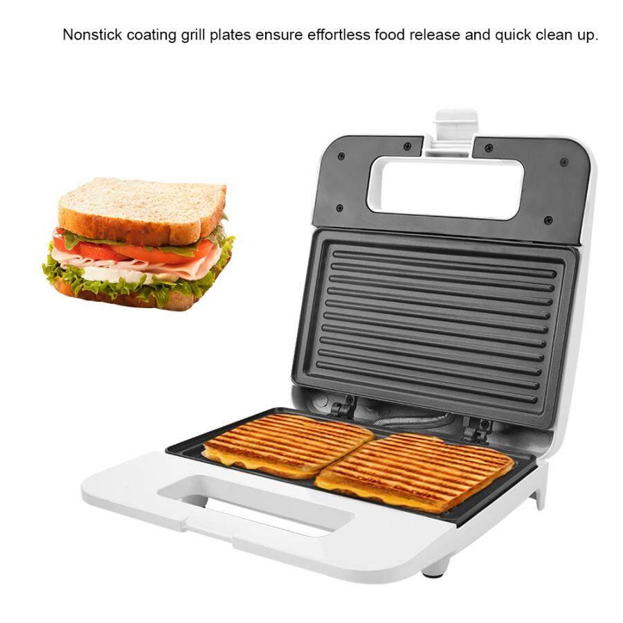 Máy Làm Bánh Sandwich Nóng, Lò Nướng Bánh Mì Vỉ Nướng Điện Máy Làm Bữa Sáng Hamburger Bít Tết Thịt, Chảo Rán Đĩa Nướng Thịt Khuôn Bánh Mì