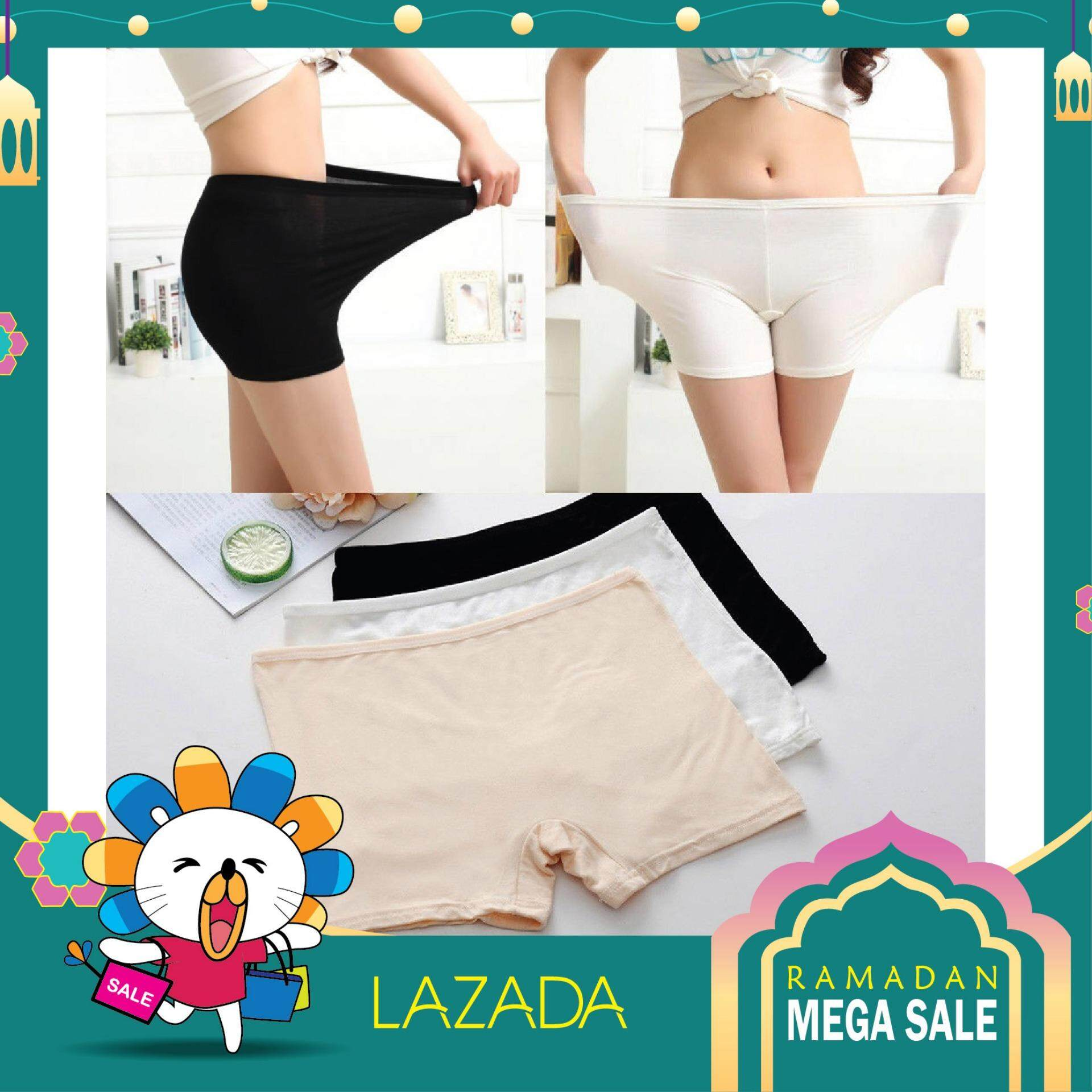 ba59b7729 Safety Shorts Women Lady Fashion Pants Leggings Seamless Basic Plain  Underwear