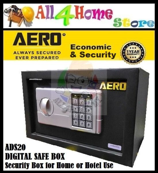 AERO ADS20 Digital Safe Box ,Peti Safety ,Security Box for Home or Hotel Use