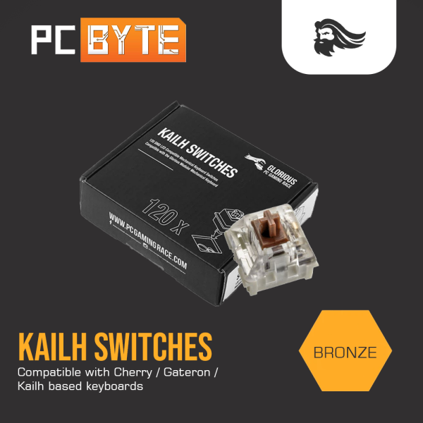GLORIOUS KAILH Bronze Switches (120PCS) Malaysia