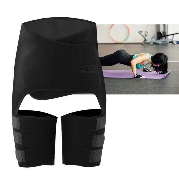 【Hàng Hot】Tuyệt vời 3 trong 1 thắt lưng đen thắt lưng tập luyện Thermo nhựa Belt đồ dùng thể thao