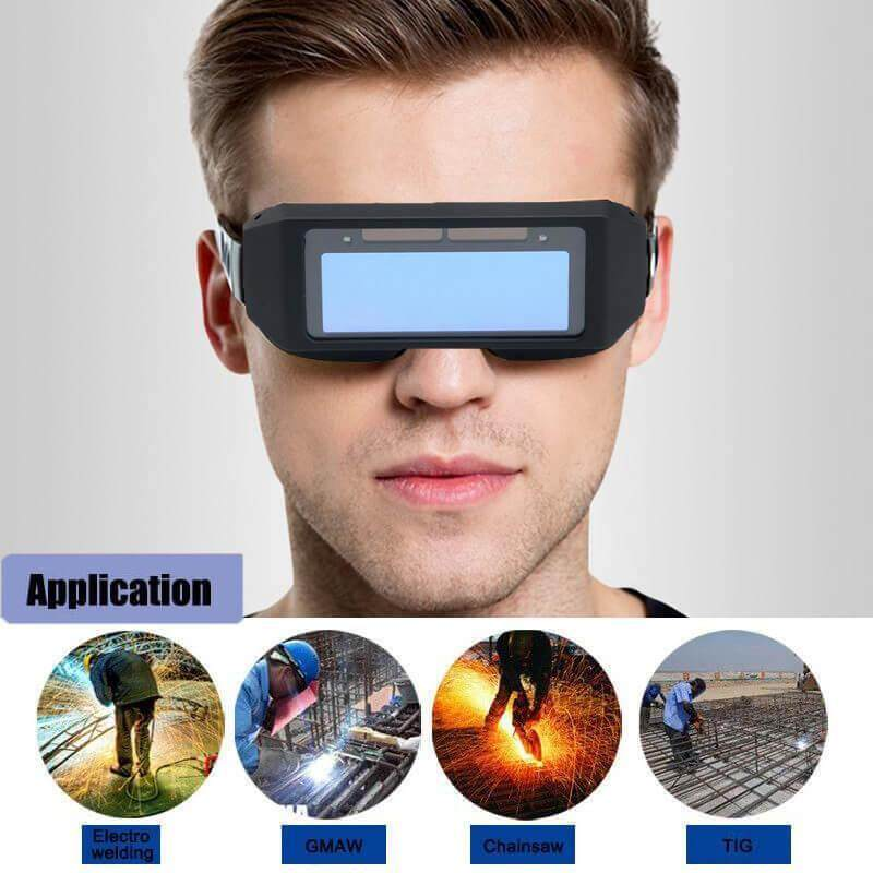 Top-Sky Large Screen Welding Helmet Mask Glasses Solar Automatic Change Photoelectric Welding Protective Mask
