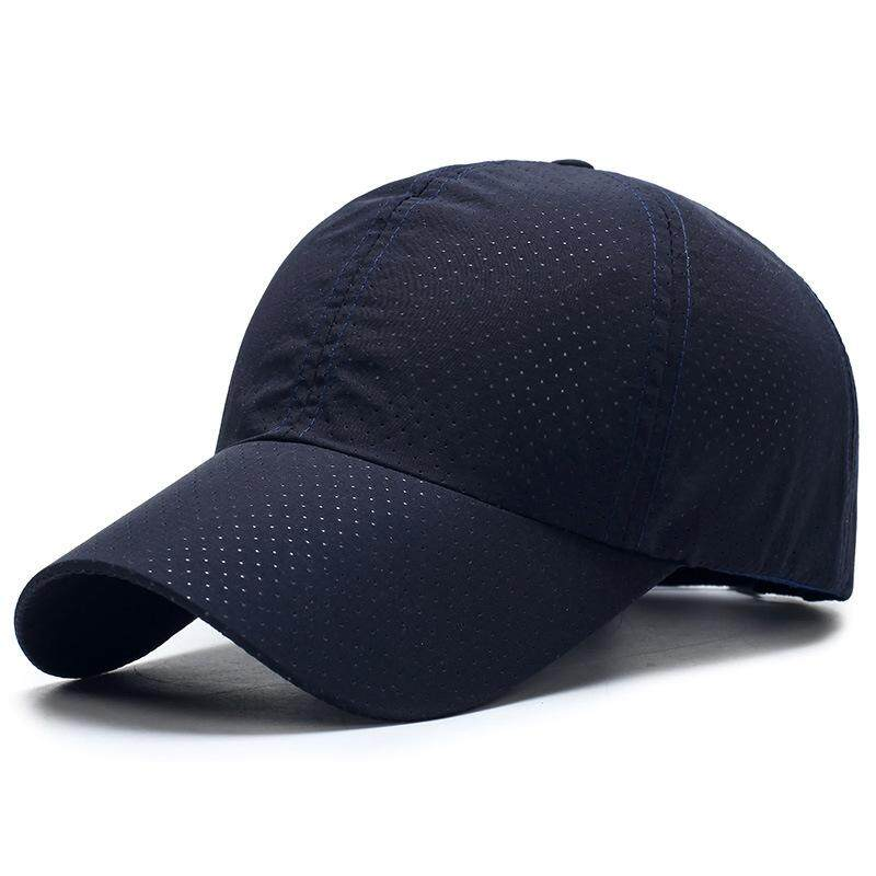 f72264fd3 Baseball Cap Hat Portable Running Sun Breathable Golf Hiking Solid Mesh  Camping Tennis Summer Unisex Dry Quick Thin