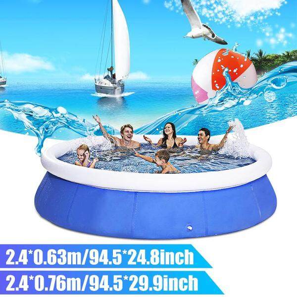 【Picture for reference only】Summer Outdoor Inflatable Swimming Pool Garden Family Pools Parent-child Paddling Pool Portable Big Capacity Childrens Inflatable Pool