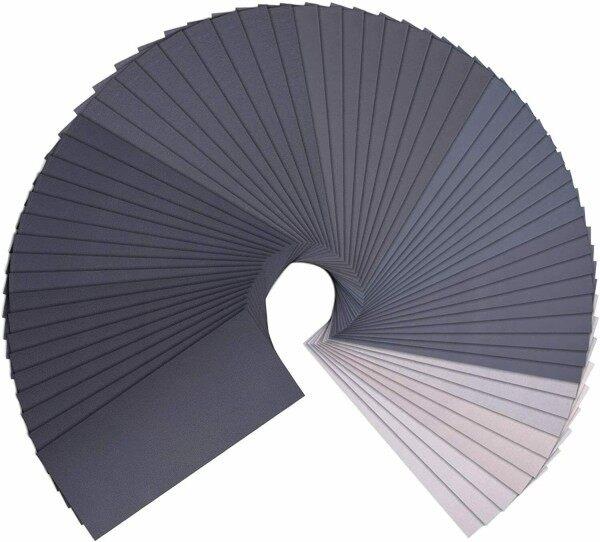 36pcs Sandpaper 60To10000# ,For Automotive Dry/wet Furniture Sanding Sandpaper