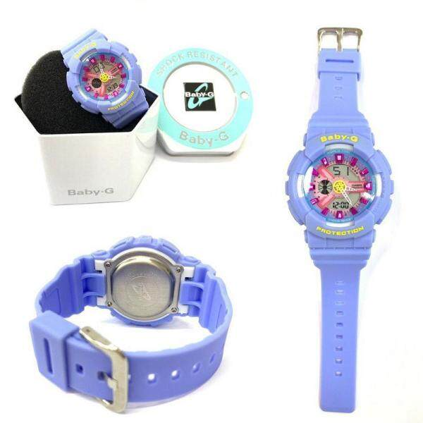 {HOT SALE} New Sport BABY_BA-110 Dual Time Display Resin Band Womens Watch New Fashion & Affordable Price Malaysia
