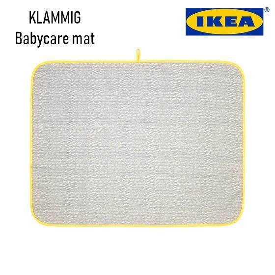 Ikea KlÄmmig Babycare Mat, Grey, Yellow By Lagalerieresources.