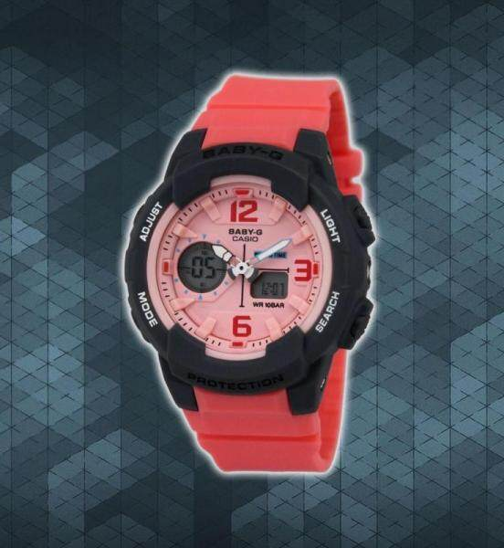 BABY_G DUAL TIME RUBBER STRAP WATCH FOR WOMEN Malaysia