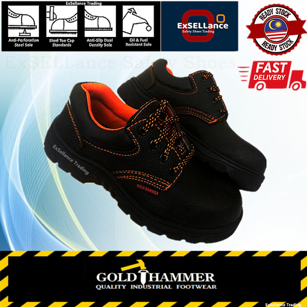 Safety Shoes Safety Boots Mens Shoes Industrial Footwear Low Cut Steel Toe Cap Steel Mid Sole