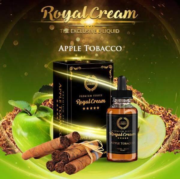 ( FREE BASE ) R. Cream 60ML ( Vanilla / Coffee / Chocolate / Strawberry ) TBC Series Premium Ejuice Vape Juice Ready Stock New Name Royal Cream Malaysia