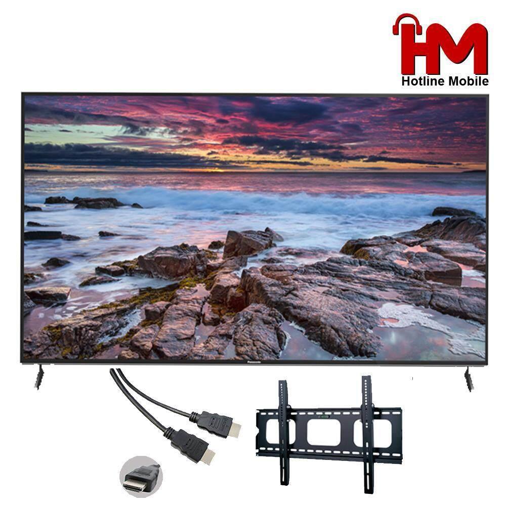"(2019 Model) (FREE HDMI+BRACKET) Panasonic 65"" GX600 4K UHD HDR Smart TV TH-65GX600K - Netflix & YouTube"