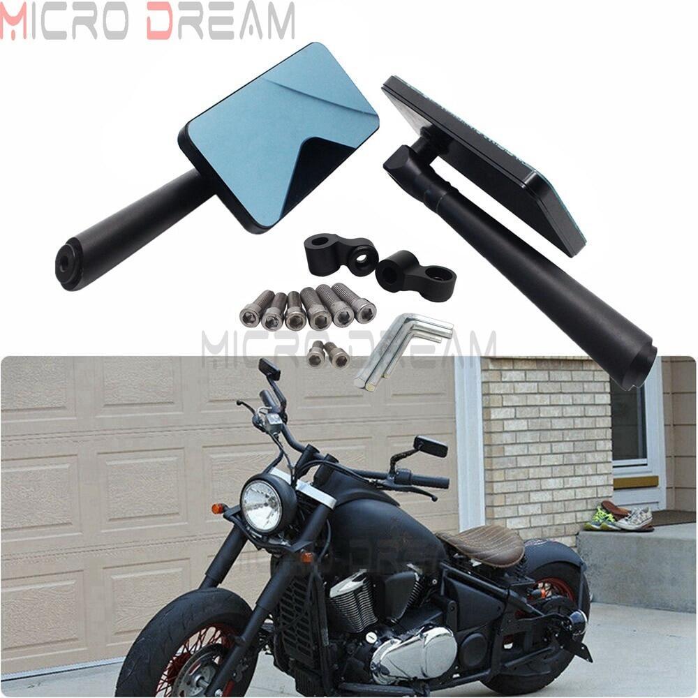 Universal 8mm//10mm CNC Motorcycle Rearview Side Mirror Street Sport Bike