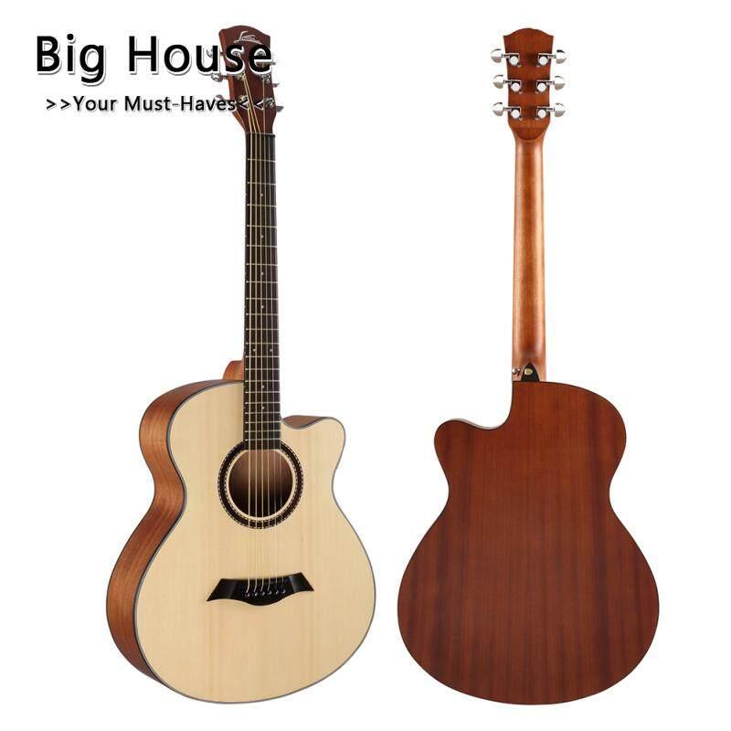 Nhà Lớn 40 Inch Dân Gian Đàn Guitar Mới Bắt Đầu Đàn Guitar Cho Người Trưởng Thành