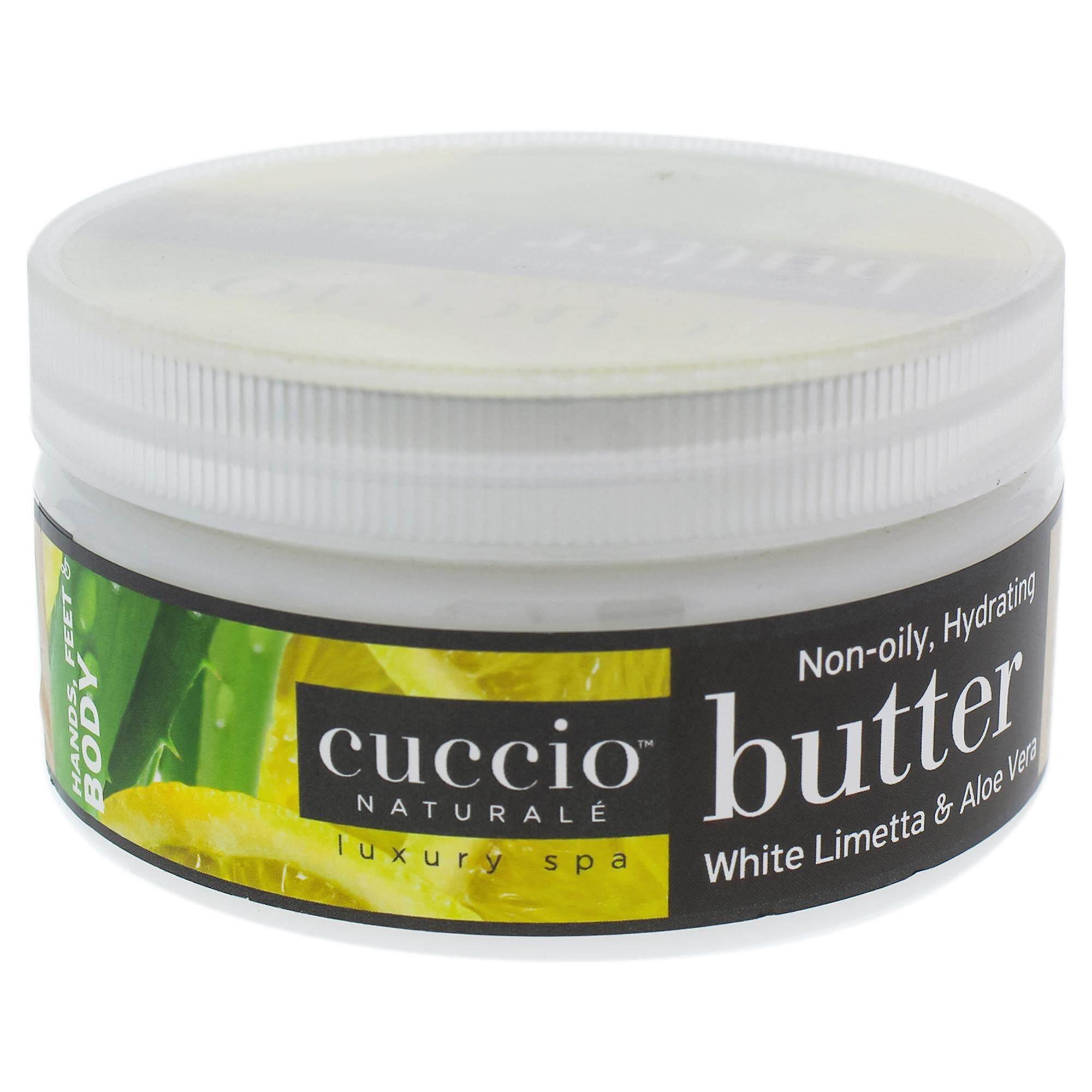 Butter Blend - White Limetta and Aloe Vera by Cuccio for Unisex - 8 oz Body Lotion