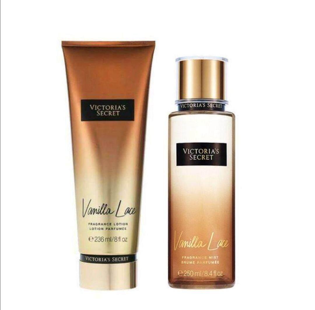 Victoria's_Secret Secret Perfume & Lotion Vanilla Lace