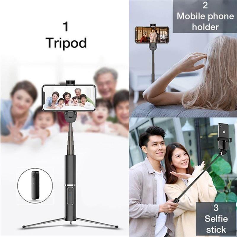 Di Động Ổ Cắm Kéo Dài Cao Cấp Bluetooth Selfie Stick Tripod Monopod Có Remote Chụp Ảnh Điện Thoại Cho Du Lịch Ngoài Trời