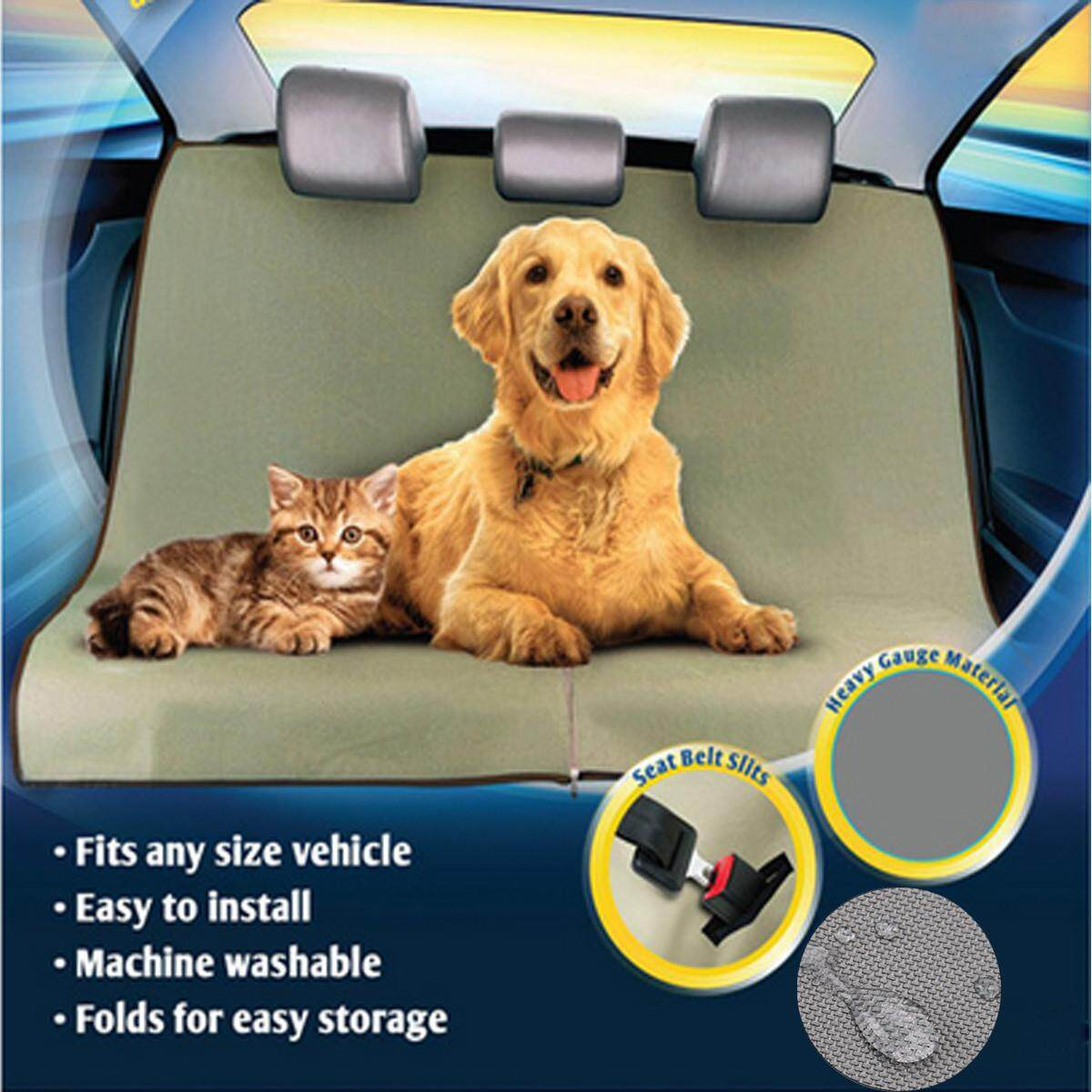 【free Shipping + Flash Deal】new Waterproof Rear Back Car Seat Cover Pet Dog Mat Cushion Protective Boot Mat By Audew.