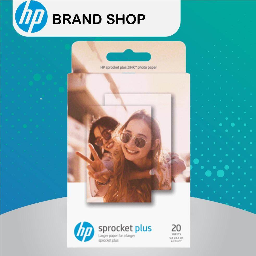 HP Sprocket Plus Photo Paper-20 Sticky-Backed Sheets 2 3 In X 3 4 In  (2LY73A)