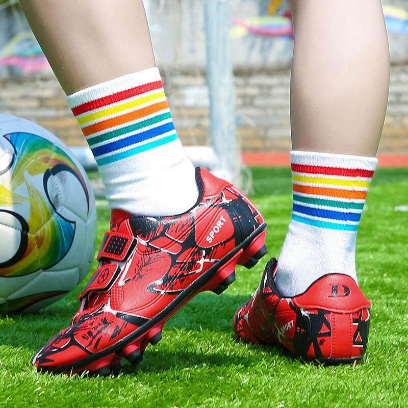 YEALON Giày Đá Bóng Trẻ Đá Bóng Sepatu Futsal Giày Thể Thao Trẻ Em Mềm Giày Futsal Sepatu BOLA Giày Đá Bóng bé trai Sepatu Futsal Thông Số Kỹ Thuật Superfly Ban Đầu Banh Sepak Futsal Trẻ Em Size28-39 9