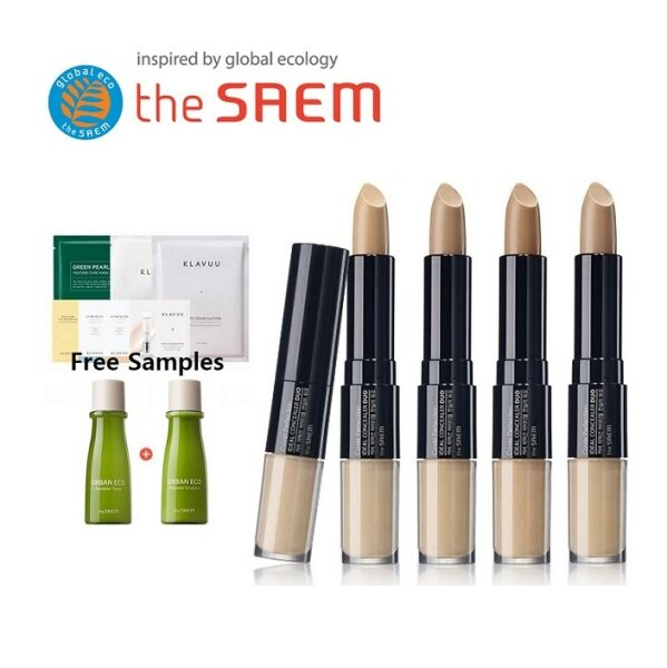 Buy [THE SAEM] Cover Perfection Ideal Concealer Duo 4.2g / 4.5g Singapore