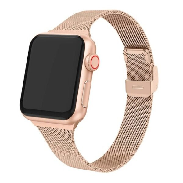strap For Apple Watch band 44mm 40mm Stainless steel metal bracelet correa for Apple watch 6 5 4 3 SE for iWatch band 42mm 38mm Malaysia