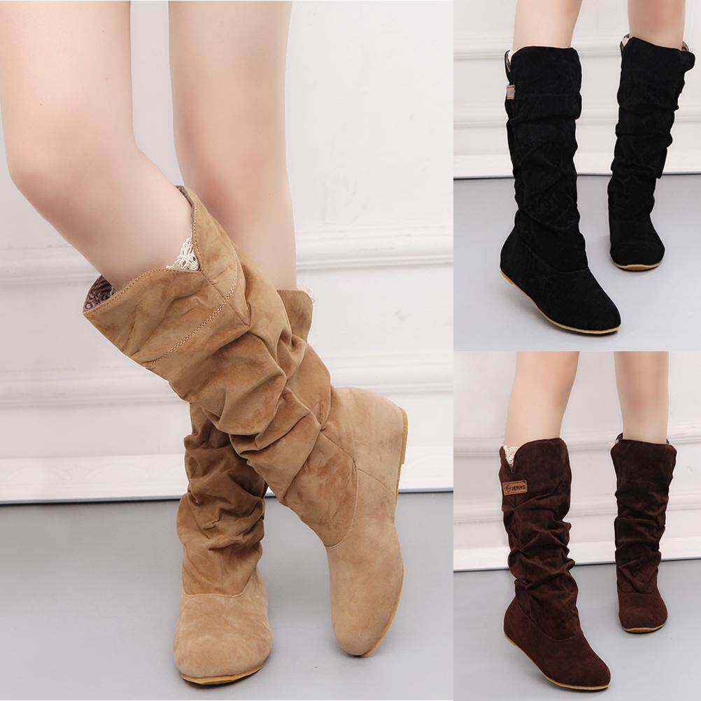 new images of quality products super specials 2019 Autumn Winter Snow Boots Warm Women Boots Matte Flock Boots ...
