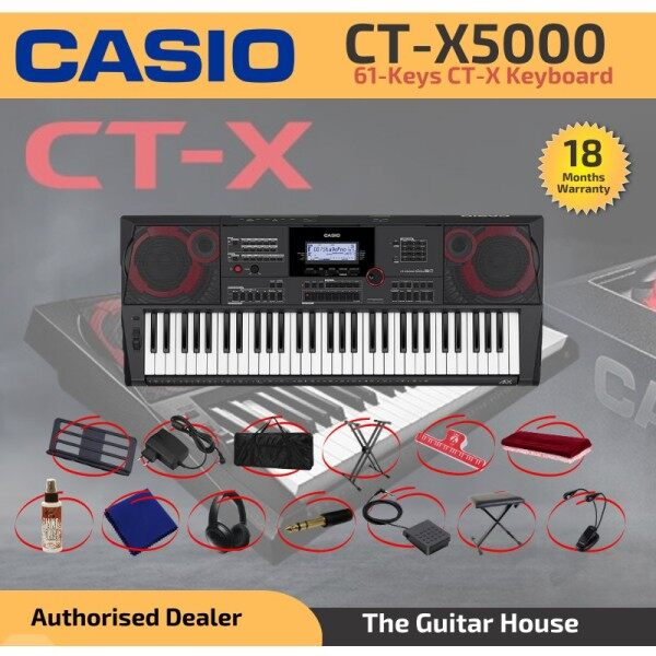 Casio CT-X5000 High Gred Keyboards 61-Keys with free gifts (CTX5000) (CT X5000) Malaysia