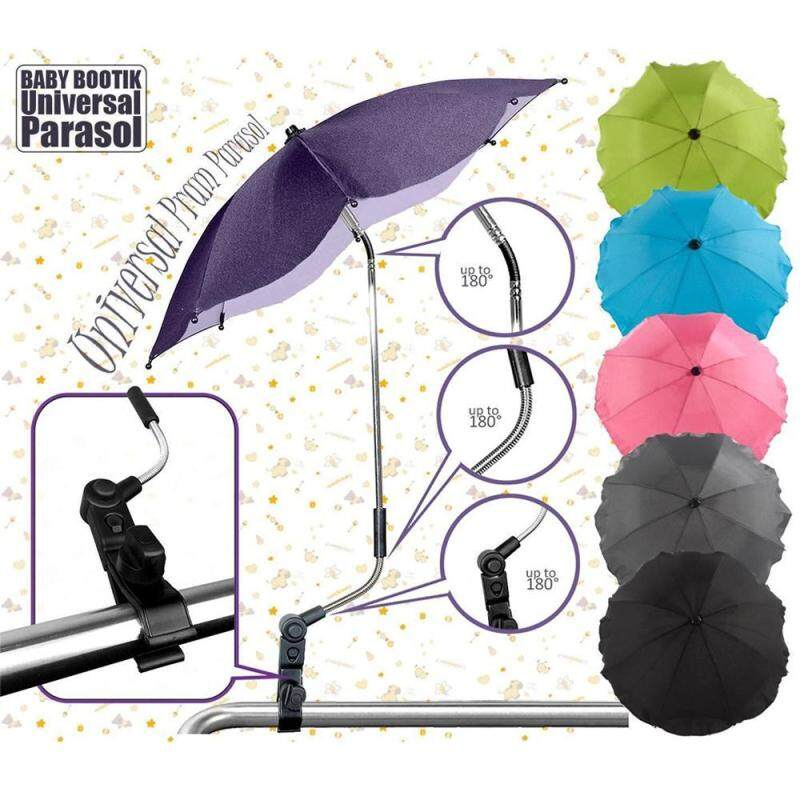 New Sun Rain Universal Stroller Accessories Durable Parasol Buggy Shade Canopy Covers Baby Sun Umbrella Pushchair Canopy Protect Singapore
