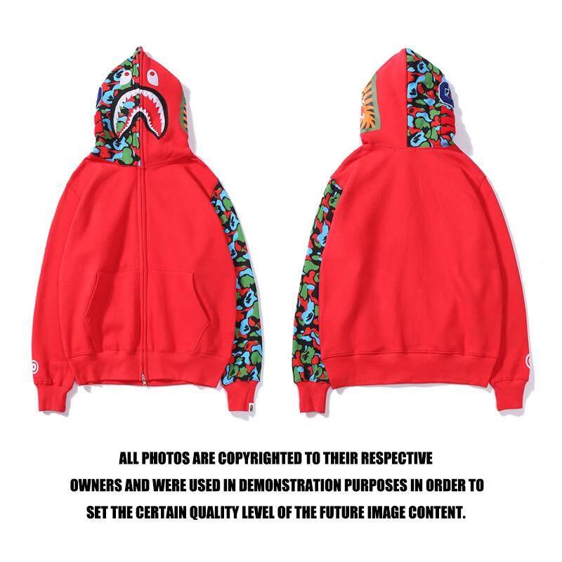 3780ab8e89aa BAPE Men Hoodies Sweatshirts Jackets stitching camouflage sleeve sweater  Clothing