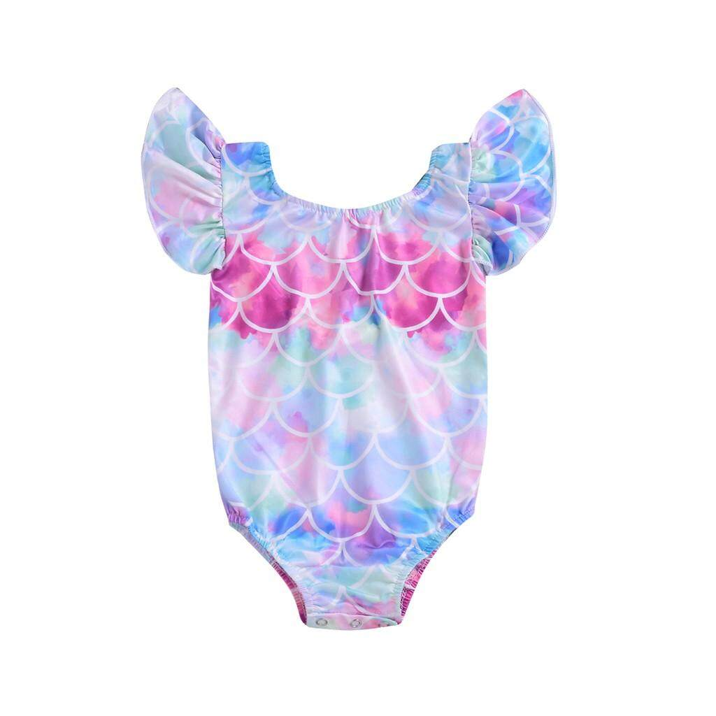 Children Kids Baby Girls Bikini Beachwear Beach Swimsuits Suits By Ju Zhuan Mall.