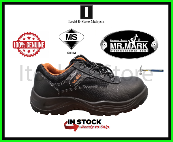 8.8【Ready Stock in Malaysia】MR MARK LOW CUT SAFETY SHOES - MK-SS-281N SERIES - BRANDED - DURABLE GOOD - 100% GENUINE - LUXURY GOOD IN SAFETY SHOES SERIES