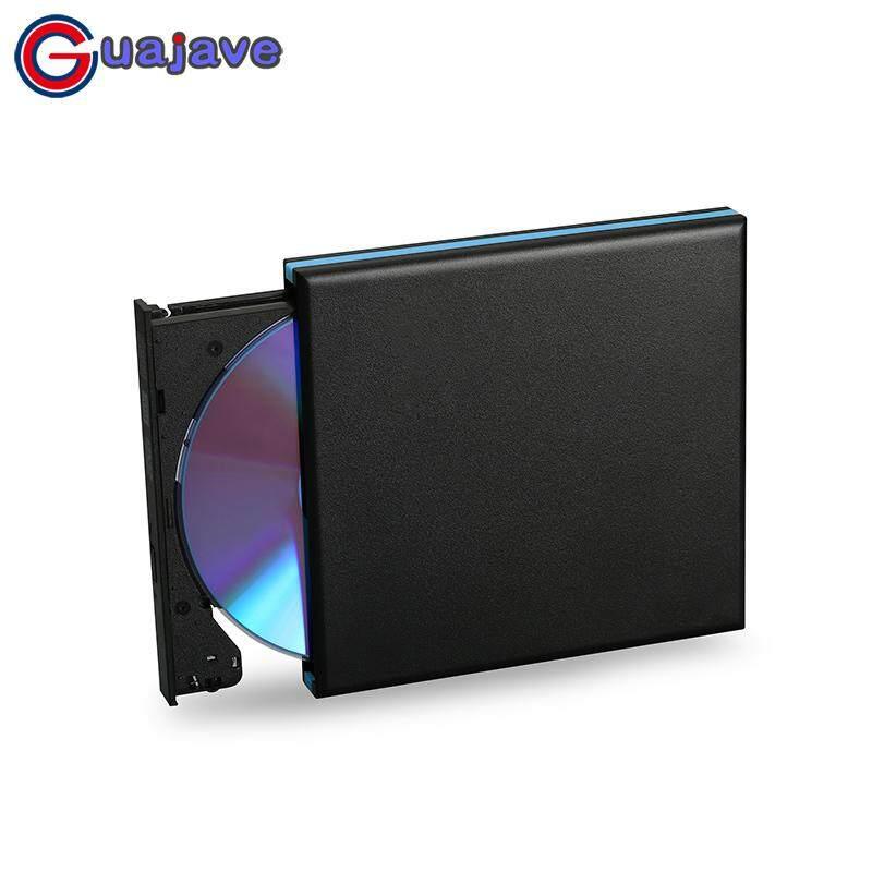 Guajave Cao Cấp USB 3.0 Cắm Ngoài Dành Cho CD DVDRW Tia Xanh 12.7 mét SATA Ổ