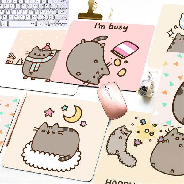 【mouse pad】Cartoon Printing Mouse Pad Pusheen Cat Gaming Mouse Pad Computer Mouse Pad Malaysia