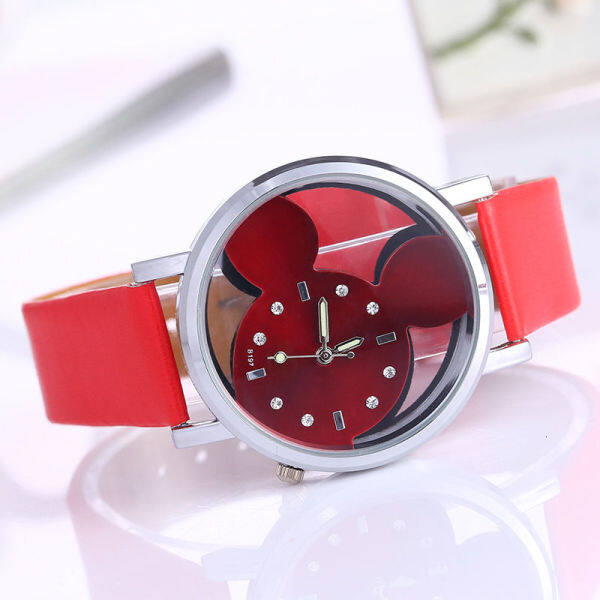 Korean watch double side hollow belt quartz watch childrens watch womens fashion watch 8HEG Malaysia