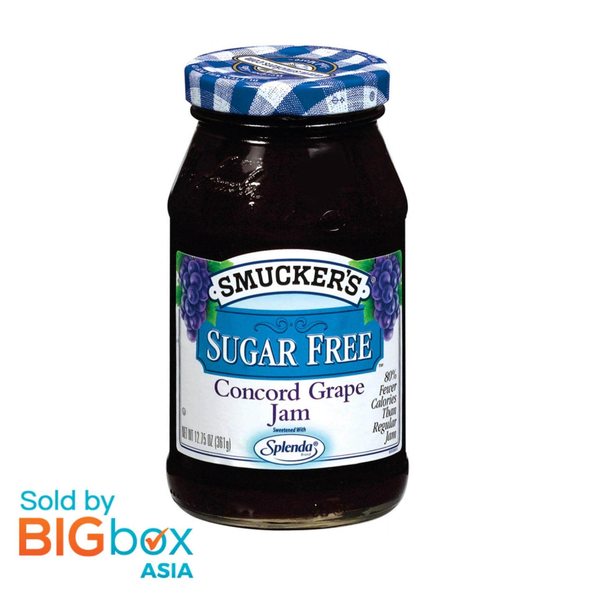 Smuckers Concord Grape Jam (sugar Free) 361g – Usa By Bigbox Asia.
