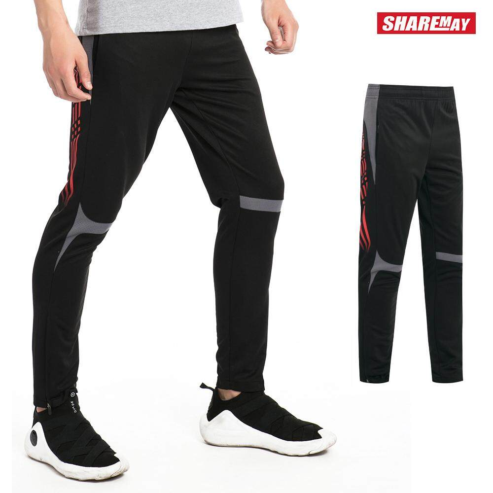 4718f46d01e28 Sports Pants Men Football Thin Section Outdoor Quick-drying Pants Running  Sports GYM Training Fitness