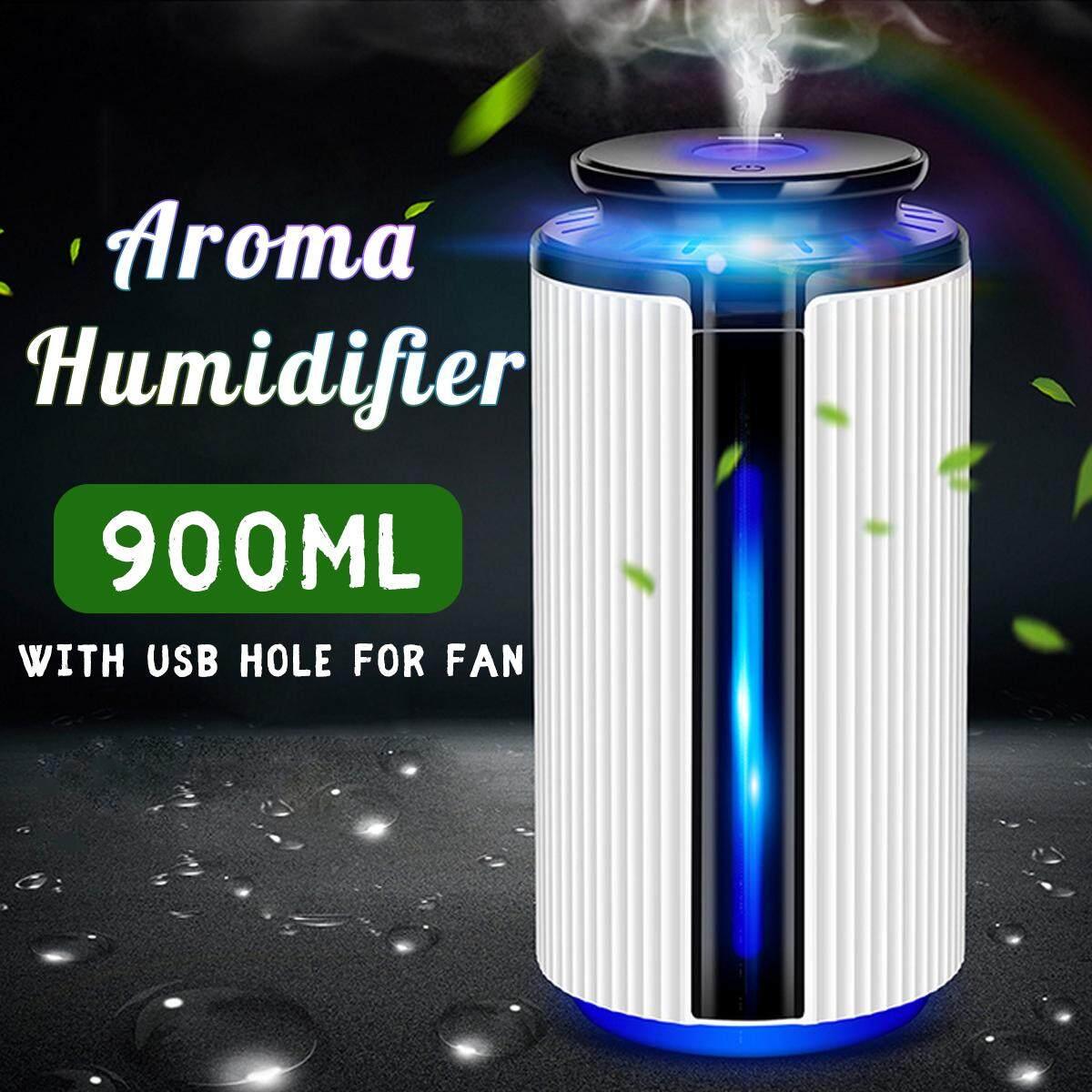 900 ML 7 ĐÈN LED Máy Tạo Độ Ẩm Không Khí Tinh Máy Khuếch Tán Tinh Dầu Hương Liệu Atomizer