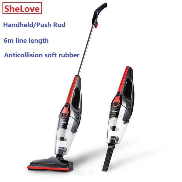 Midea Vacuum Cleaner Household Handheld Vertical Vacuum Cleaner 2 in 1 Strong Suction U1 Singapore