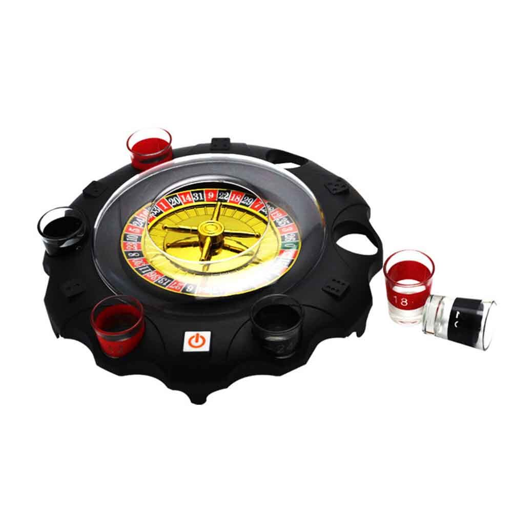 Adult Party Gifts Bar Entertainment Home Battery Powered Ktv Russia Board Game Tool Toy Drinking Turntable.