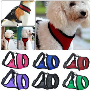 Đai An Toàn Cho Chó Cưng, Áo Lưới Kiểm Soát Dễ Dàng Dây Đai Ngực Dây Xích thumbnail