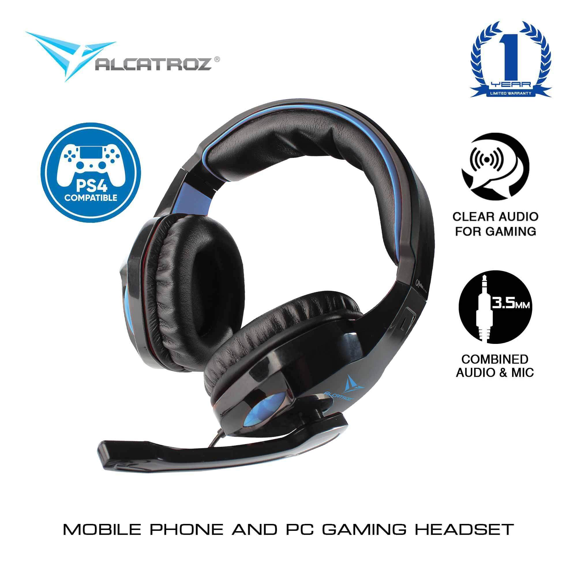 Alcatroz Alpha MG300A Gaming Headphones With Mic For Smartphones And Tablets
