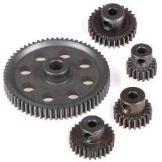 WXGR HSP Steel Metal Spur Differential Main Gear 17T/21T/26T/29T/64T Pinion Gear